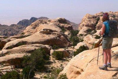 Dana to Petra Trek with Wadi Rum