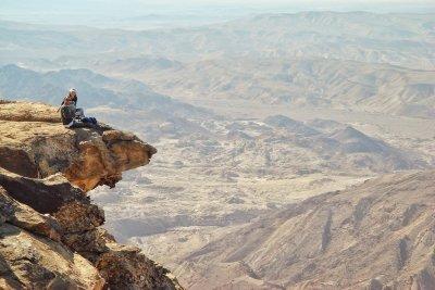 Full tour of Dana to Petra Trek