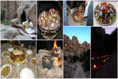 Little Petra outdoor cooking experience